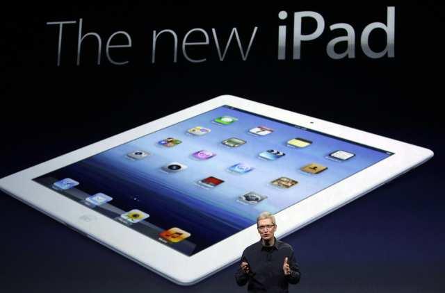 """Mart - Apple'ın gözde oyuncaklarından iPad'in 3. nesili duyurulduğu ay oldu. Adı da """"The New iPad"""" oldu."""