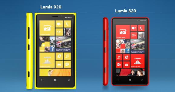 05 Eylül - Nokia bugün Microsoft ile beraber Manhattan'da düzenlediği etkinlikte yeni Lumia 820 ve Lumia 920'yi resmen tanıttı. Etkinlikle beraber Windows Phone 8 de resmen tanıtılmış oldu. Nokia'nın yeni amiral gemisi Lumia 920, 4.5 inç'lik kavisli bir cam ekrana (1260x768), Snapdragon S4 işlemciyle (çift çekirdekli, 1.5GHz) ve 32GB depolama alanına sahip.