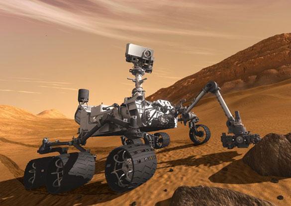 """06 Ağustos - Yapım aşaması da internetten izlenebilen Mars'a giden keşif aracı Curiosity'nin tüm süreci internet üzerinden takip edilebiliyor. Şimdiye kadar Mars gezegenine gitmek için üretilmiş en gelişmiş uzay aracı olan Curiosity, 12'den fazla kamerası, meteoroloji istasyonu, sondaj ile çevreyi """"tadarak ve koklayarak"""" incelemesine olanak sağlayan araçlarıyla, Mars'ta hayata ilişkin kimyasal temel yapı taşlarını bulmaya çalışıyor. Bize an be an takip ediyoruz."""