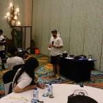 Sony Product Marketing Manager Ahmed Mansoor sunumunu yaparken...
