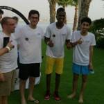 Sony Ortadoğu-Afrika yöneticisi Rudi ile bizim takım...