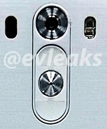 LG G3'ün olduğu öne sürülen arka tuşlar...