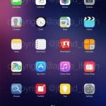 iPad'de iOS 8...