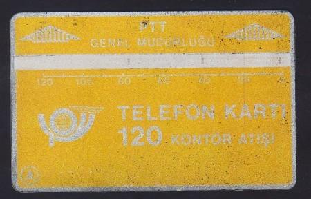 kahramanugurlu-ptt-175-telefon-kartı